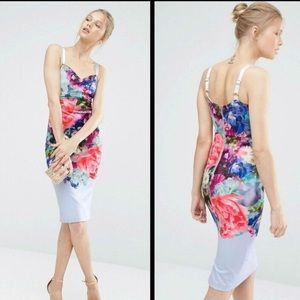 Ted Baker London- Floral Bouquet Dress